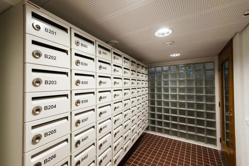 Unihome - Töölö Towers - postihuone