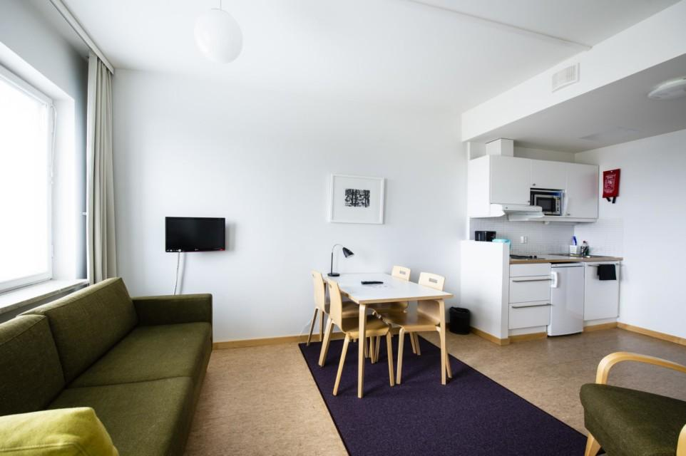 Unihome - Töölö Towers - Twin studio