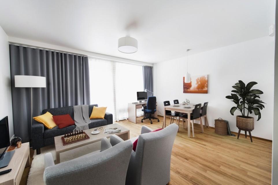 Unihome - Aalto Inn - One bedroom with balcony