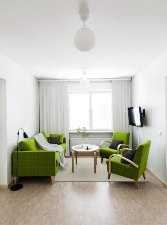 Unihome - Töölö towers - Furnished apartment 2mh 65 m2