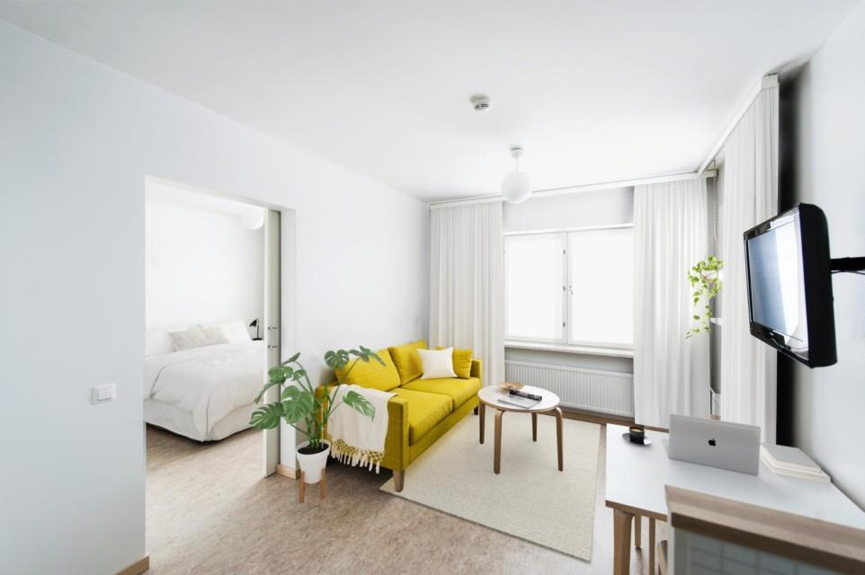 Unihome - Töölö Towers - furnished apartment, 1mh